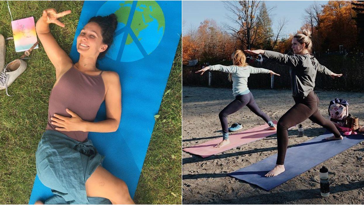Tu peux aller suivre des cours de yoga dans Villeray pour 5 $