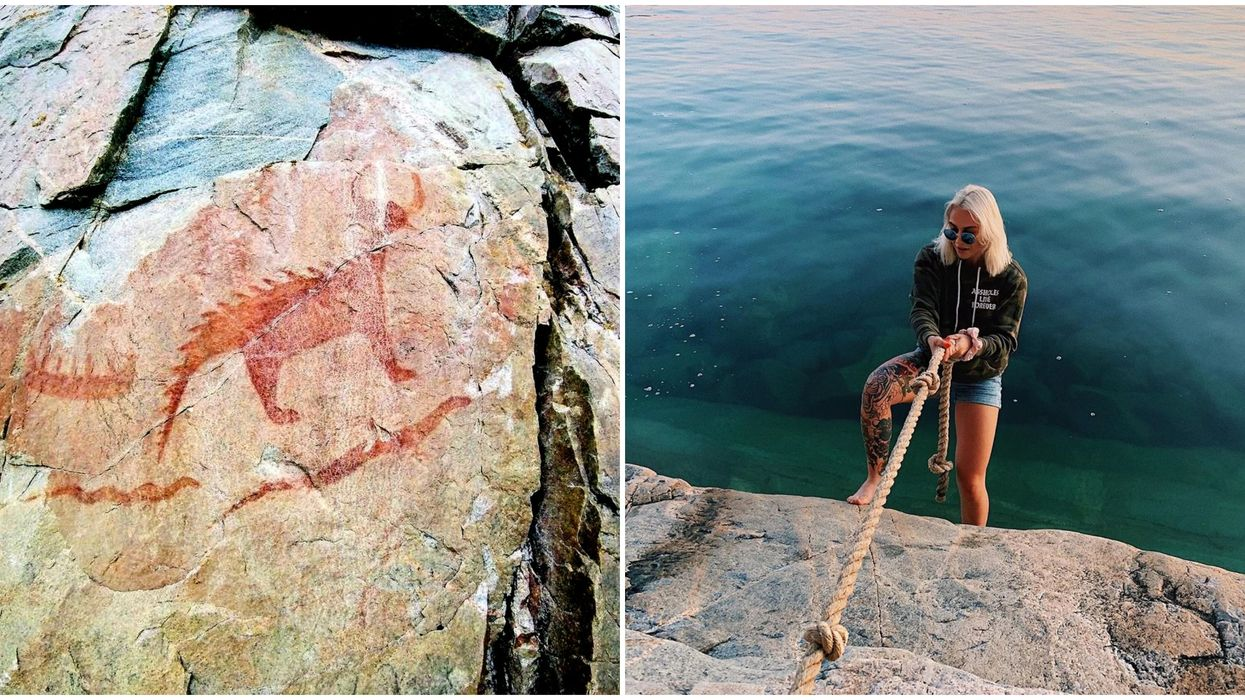 An Ontario Cliff Trail Will Lead You To Ancient Indigenous Paintings And Gorgeous Views