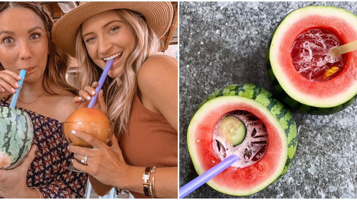 Farm & Craft In Scottsdale Serves Up Boozy Drinks In Actual Fruit