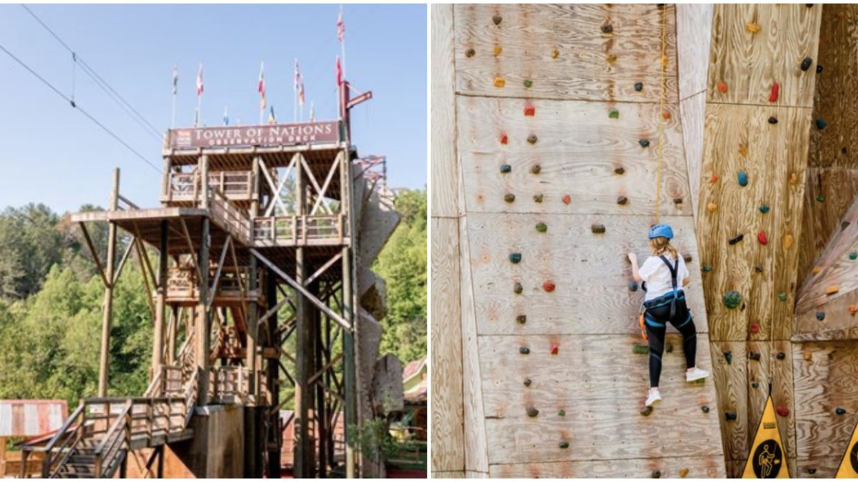 Foxfire Mountain Adventure Park In Tennessee Is Reopening This Weekend