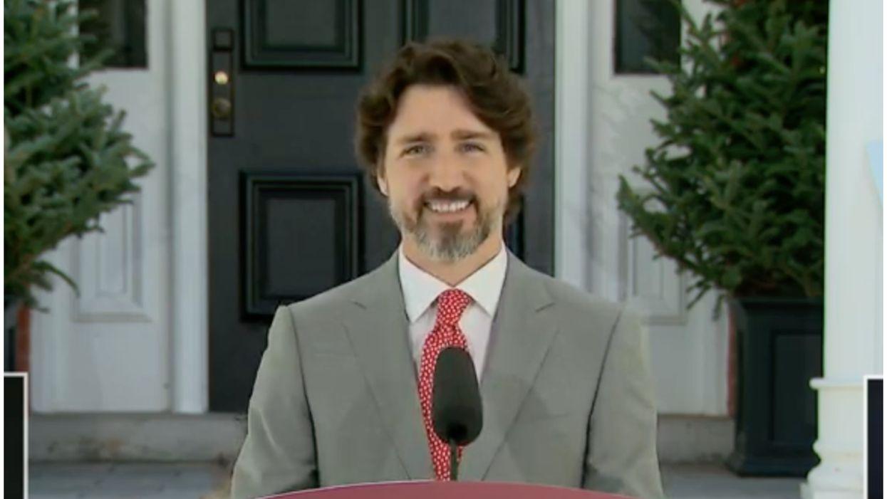 Justin Trudeau et une journaliste ont un moment #OkBoomer et c'est cocasse