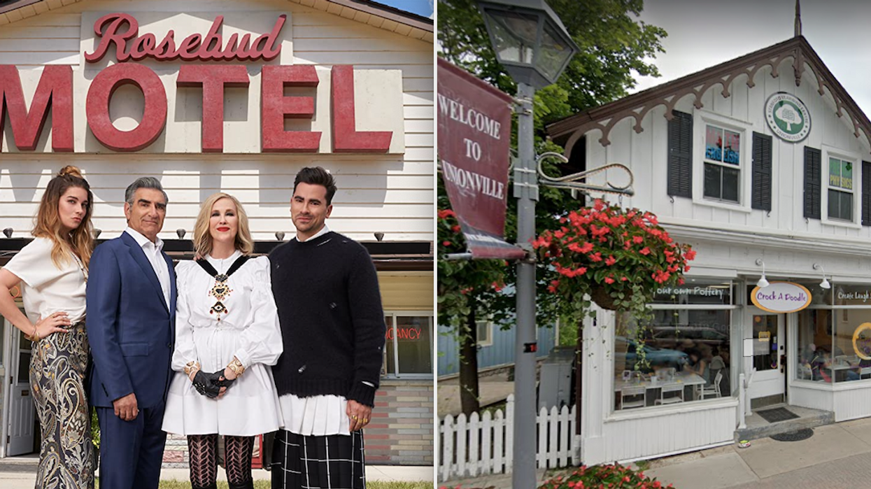 Party at the Rosebud Motel! From a safe distance, that is. TheSchitt's Creek filming locations are in Ontario and you can virtually explore them with Google Maps. Whether you're located thousands of miles away from the small town or just want to keep yourself and its residents safe, the computer experience is just as fun as real life.