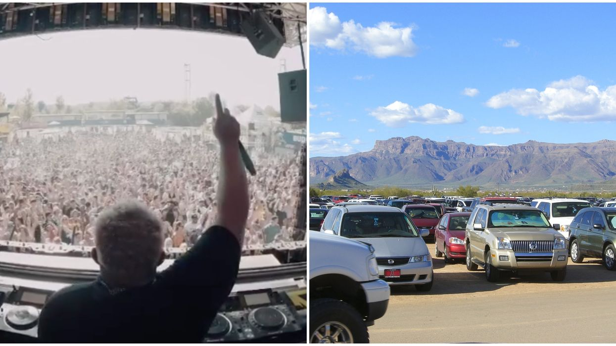 Arizona Is Hosting The First 'COVID-Era' Drive-In Music Festival In North America This May