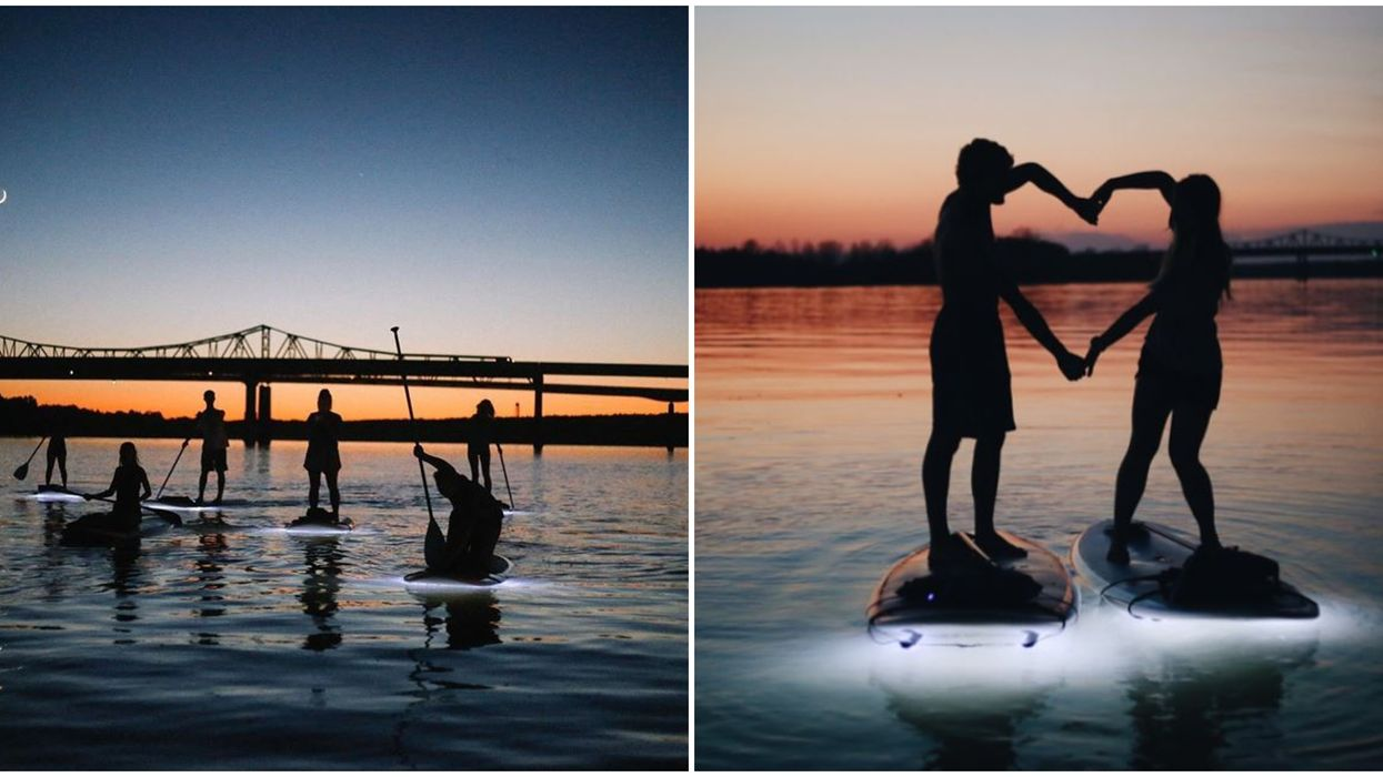 Alabama Tours With Forrest Paddle Boarding Will Take You On A Glowing Adventure