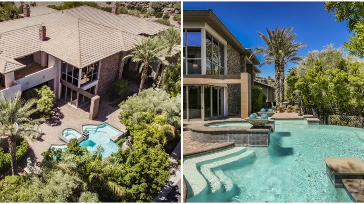 Las Vegas Mansion For Sale Is A Modern-Day Sanctuary.