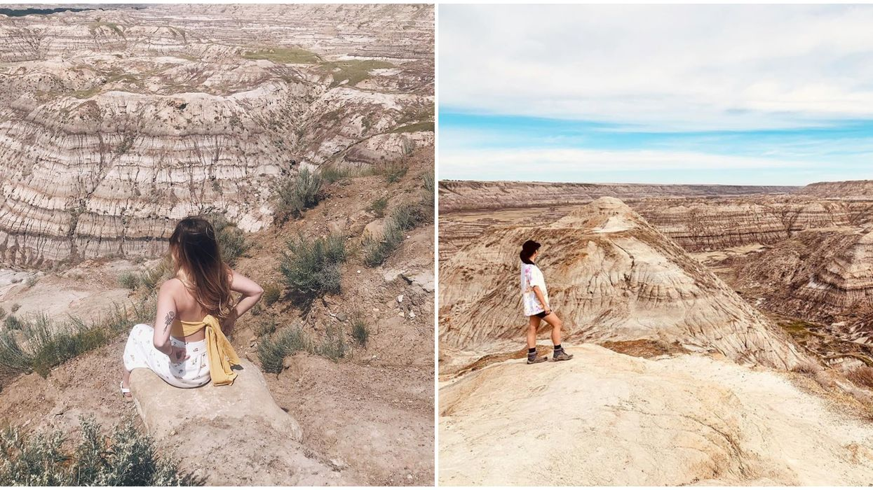 Horsethief Canyon Is A Stunning Alberta Wonder That Will Remind You Of California