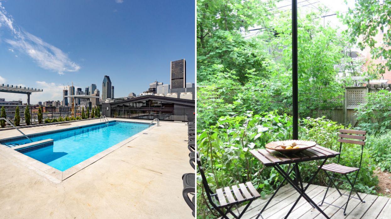 7 appartements à louer à Montréal avec une terrasse pour profiter de l'été