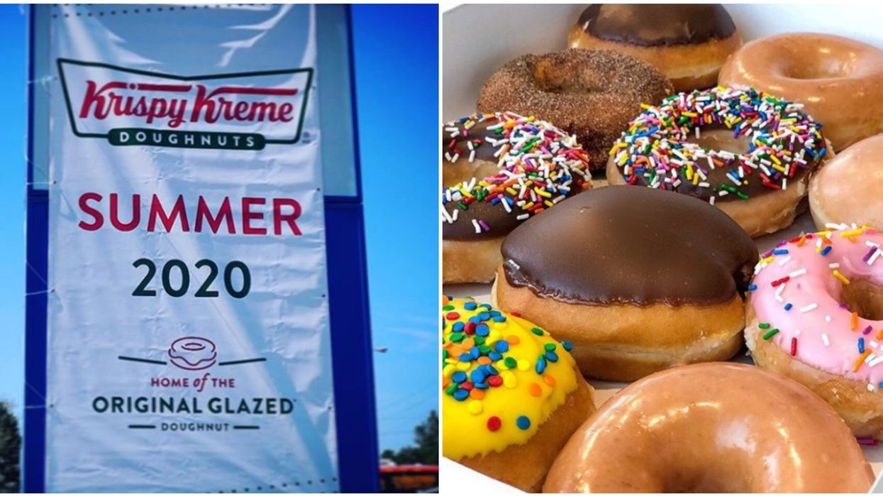 Krispy Kreme Is Coming To Scarborough This Summer To Boost Toronto's Donut Options