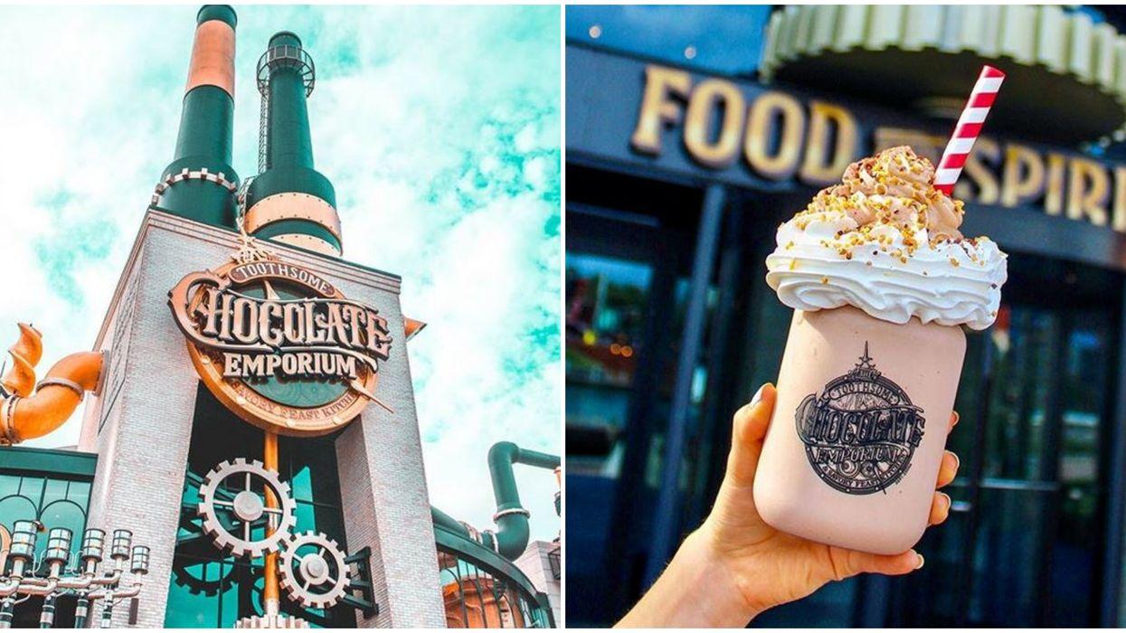 Universal Studios Orlando Reopens Toothsome Chocolate Emporium Tonight