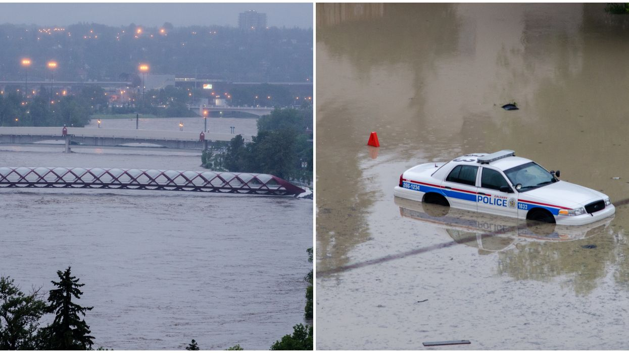 Calgary Weather Forecast Predicts A Month's Worth Of Rain & Possible Flooding