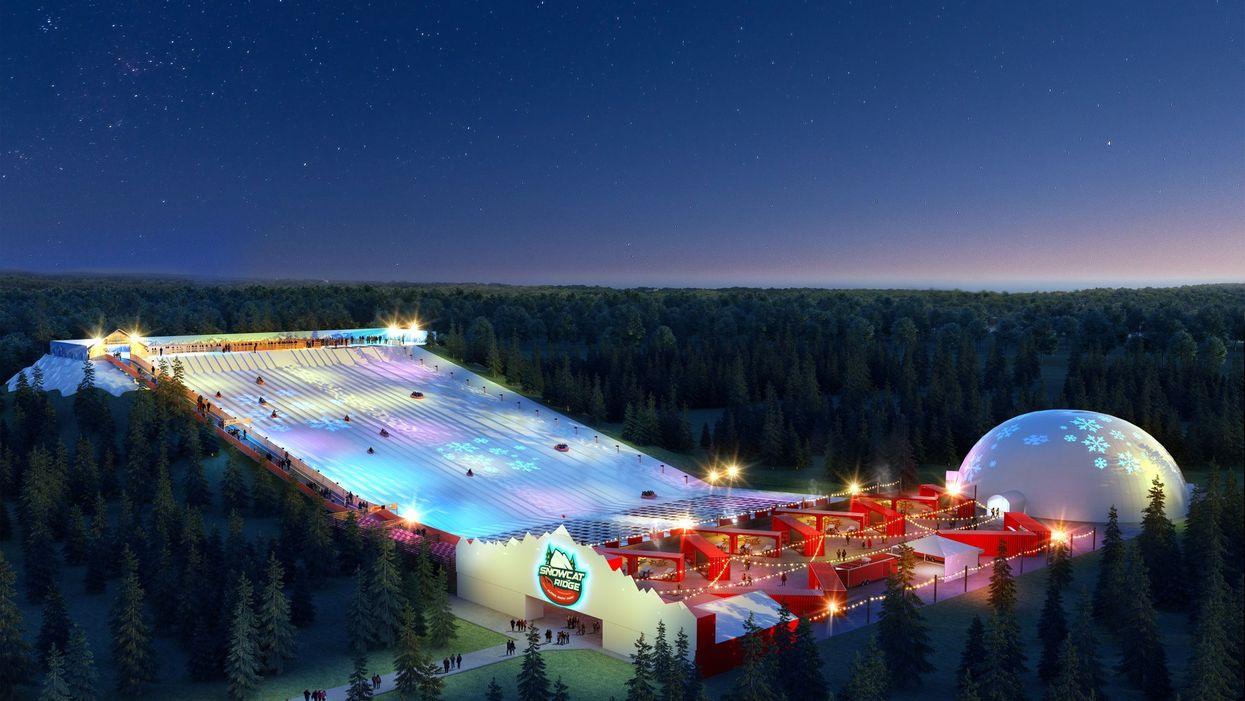 Snowcat Ridge Florida's First Ever Snow Park Still Set To Open By Christmas 2020
