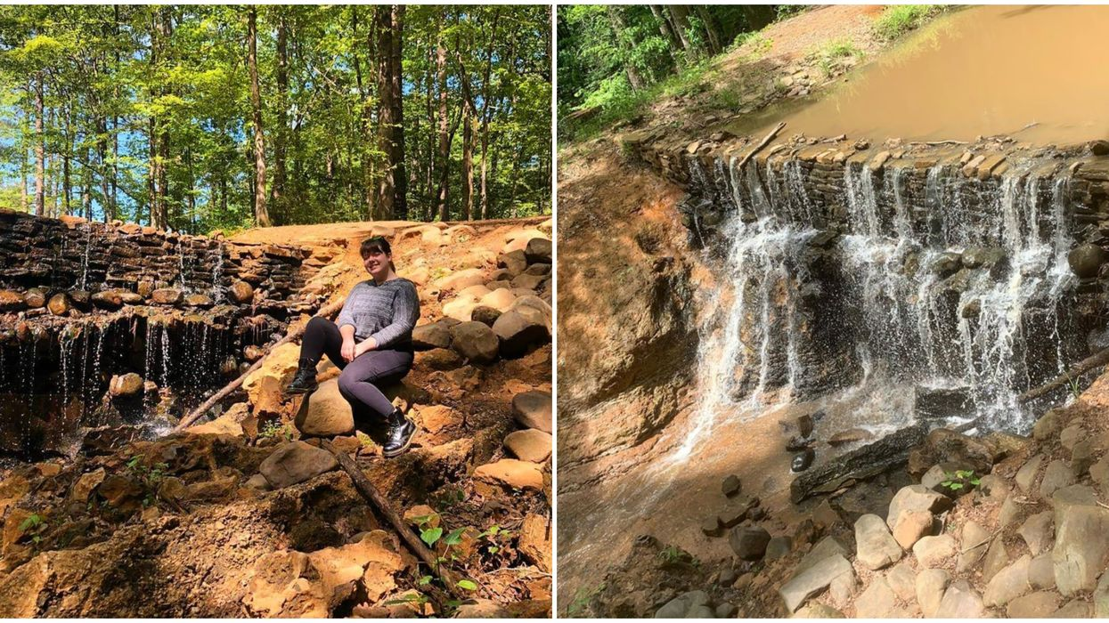 This Lush Louisiana Park Is Covered In Waterfalls