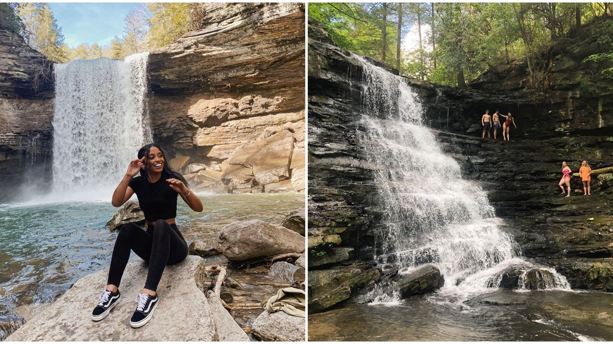 Waterfalls In Tennessee Include Scenic Hike To Greeter Falls