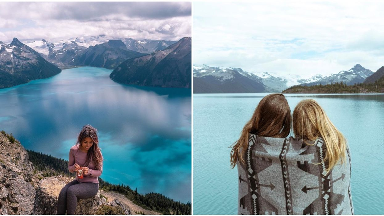 Garibaldi Provincial Park Has A Epic Hiking Trail That Takes You To A Turquoise Lake