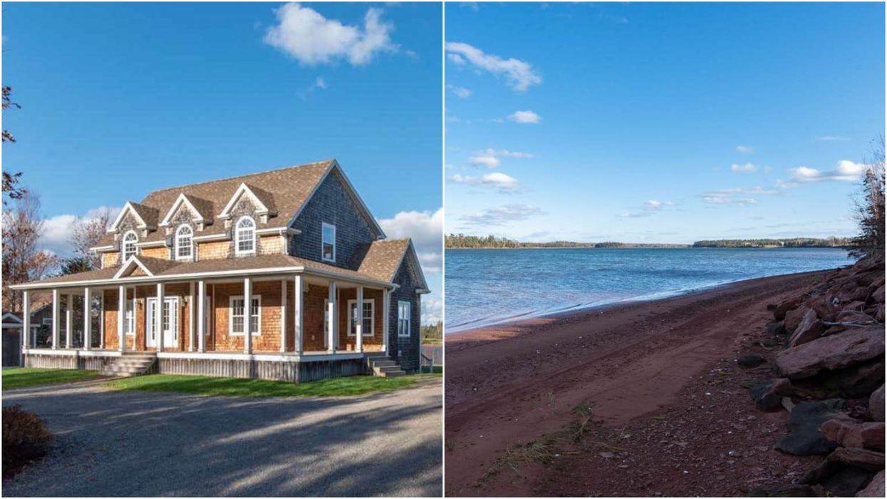 House For Sale In PEI Has A Private Beach & Is Cheaper Than A City Condo (PHOTOS)