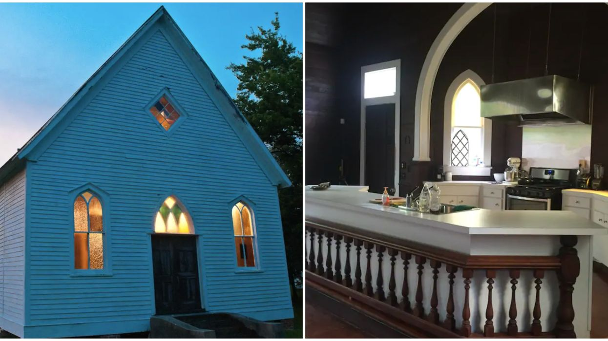 You Can Spend The Night In A 1900s Church Airbnb Near Baton Rouge
