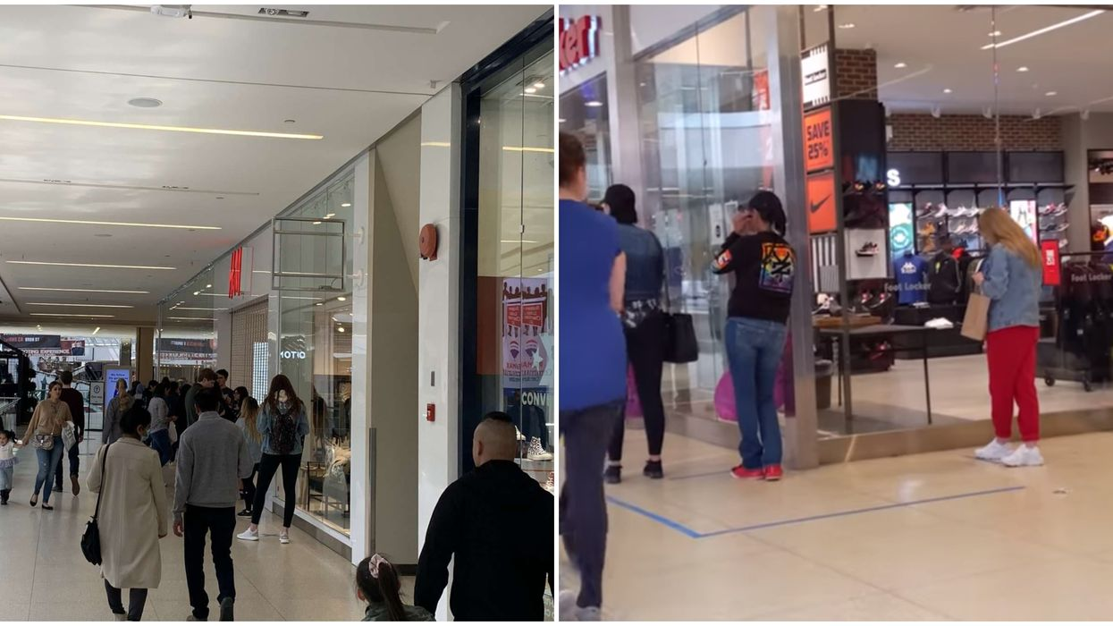 West Edmonton Mall Is Busy Again Post-Reopening But It's Not Like You Remember (VIDEO)