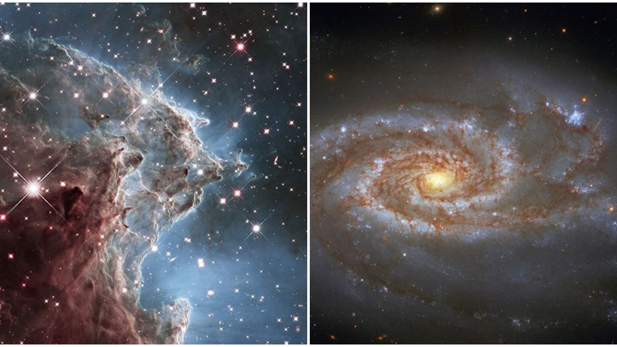 NASA Will Show You What Hubble Saw In The Galaxy On Your Birth Date
