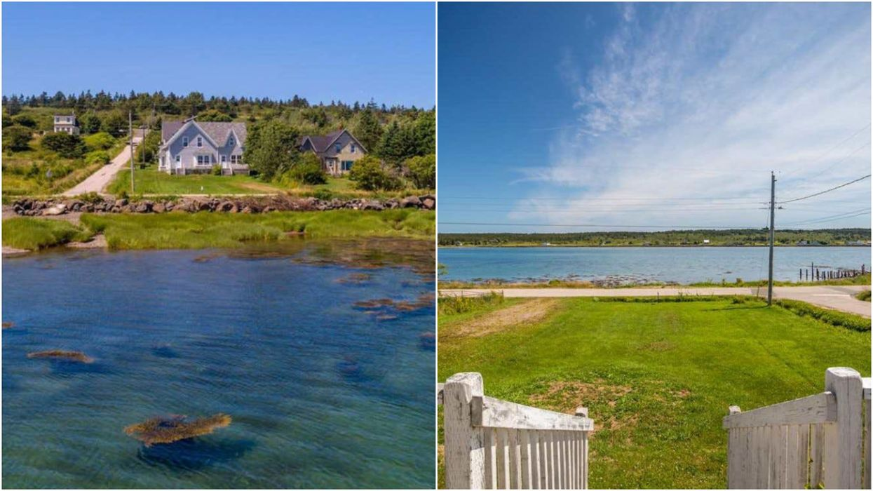 House For Sale In Nova Scotia Has A Staircase To The Beach & Costs Just $82K (PHOTOS)