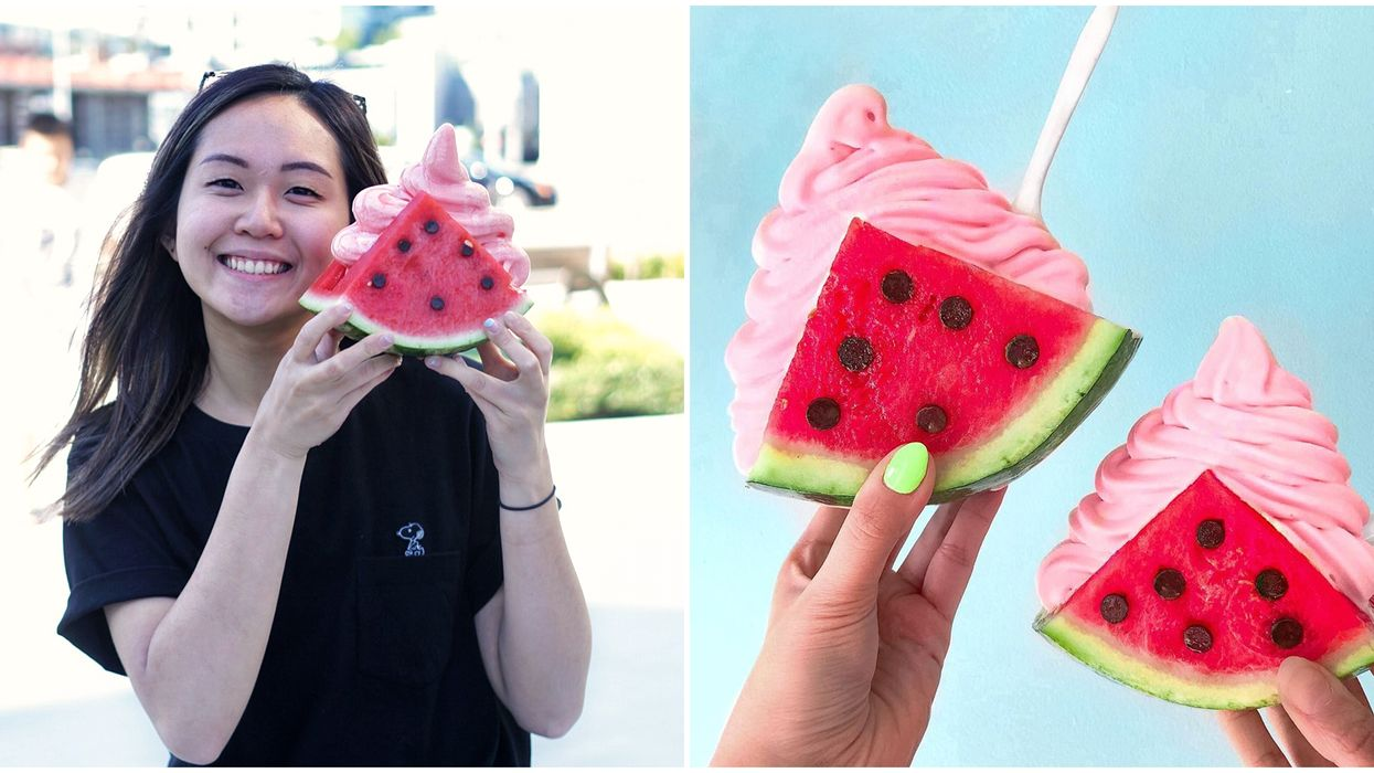 Watermelon Ice Cream In Vancouver Is Back This Summer And You Can Get It This Week