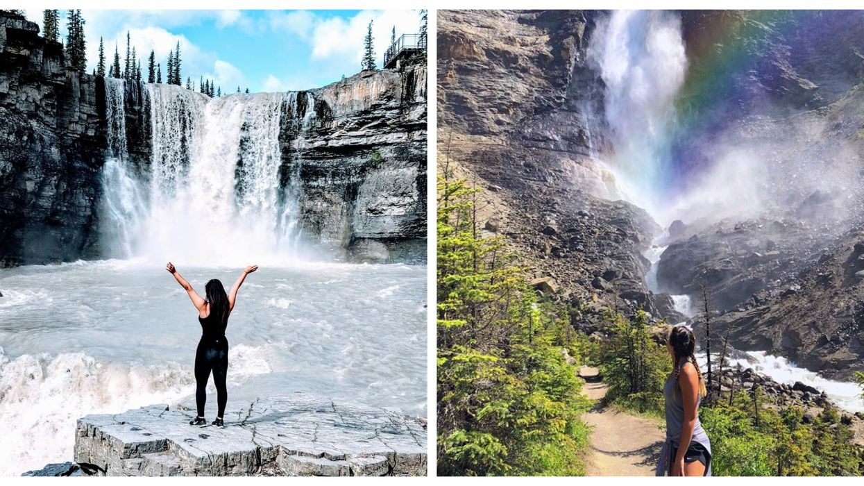 8 Cascading Waterfalls Near Calgary For Your Next Spontaneous Summer Day Trip