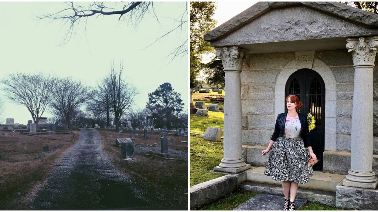 South Carolina Oakwood Cemetery Is One Of The Creepiest In The State