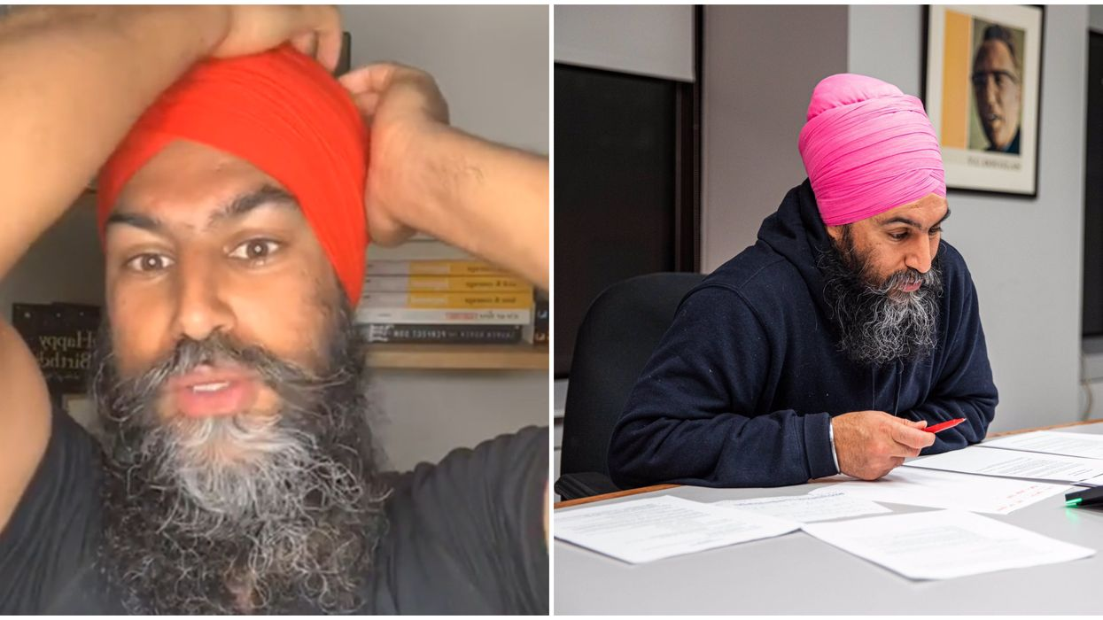 """Jagmeet Singh Instagram Live Started With """"Turban Technical Difficulties"""""""