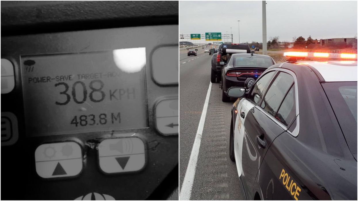 Speeding & Stunt Driving In Ottawa Got So Bad That Police Issued 822 Tickets In 25 Days