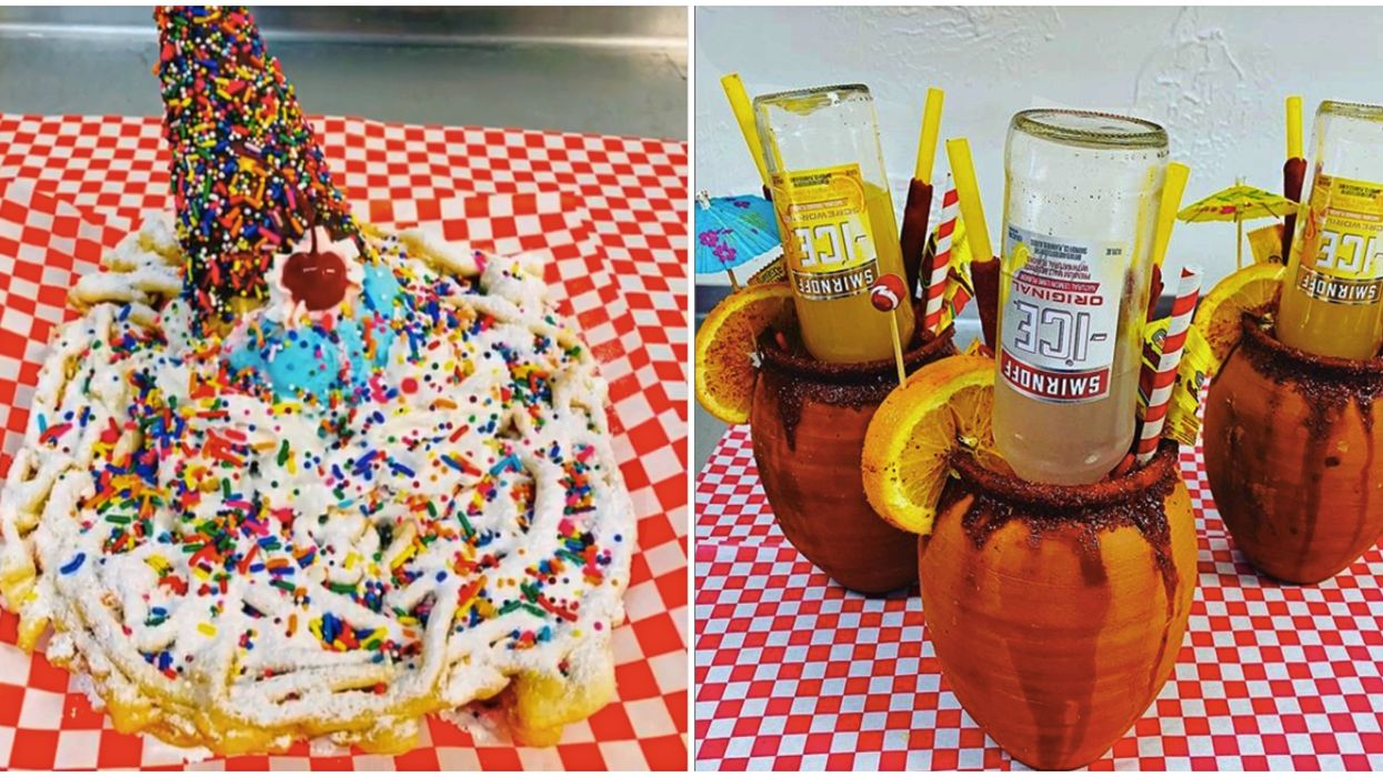 This Tasty Dallas Joint Has Brand New & Totally Bonkers Boozy Drinks