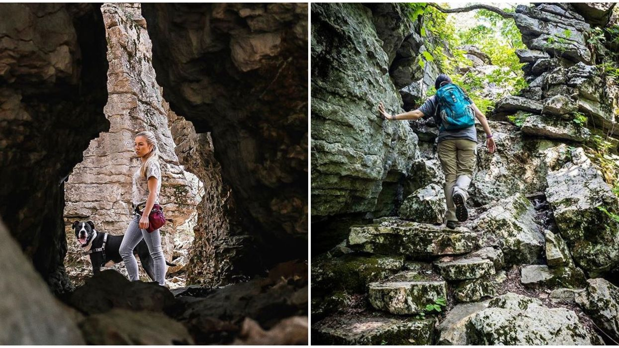Monte Sano State Park Hiking Trails In Alabama Through Rock Maze Are A Must Visit