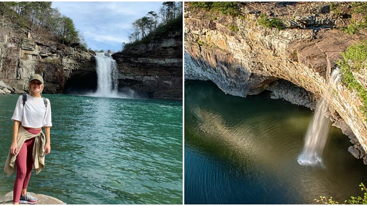 Desoto Falls Easy Alabama Hike Leads To One Of The State's Tallest Waterfalls
