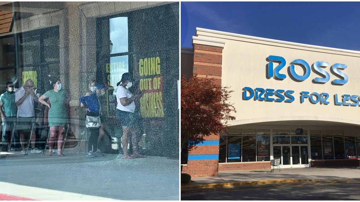 Long Lines Form Across Texas As Stores Reopen Or Go Out-Of-Business (PHOTOS)