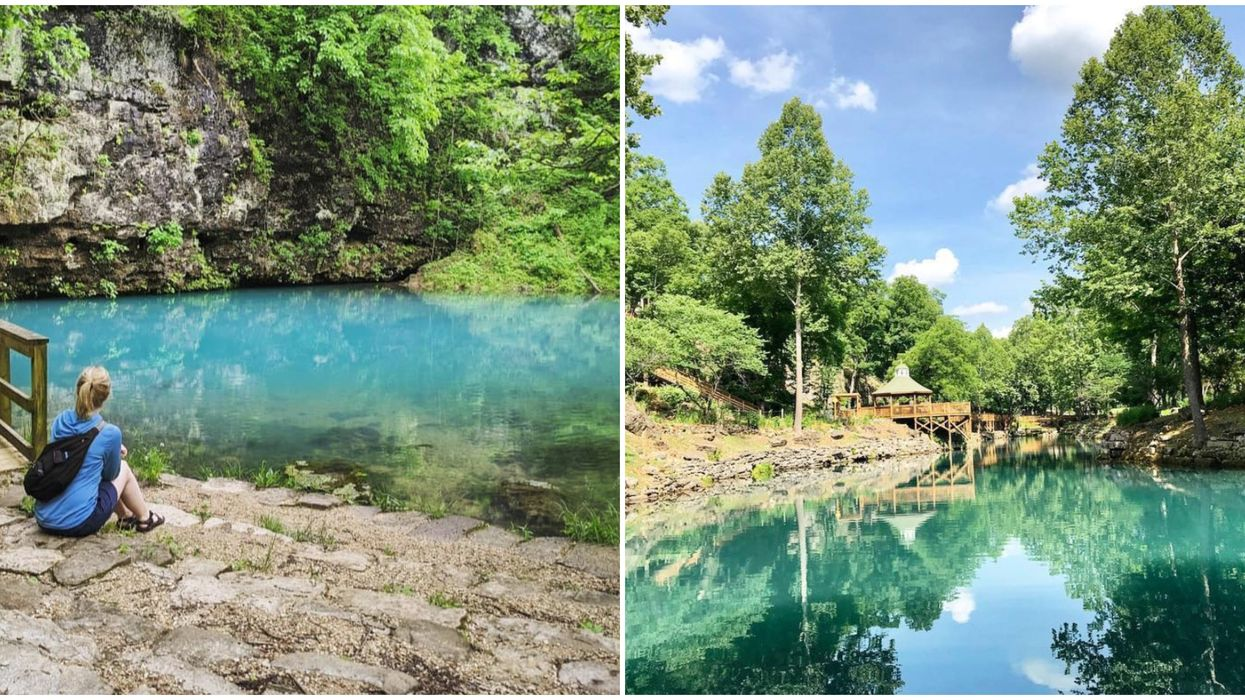 Missouri's Blue Spring In The Ozark National Scenic Riverways Is Stunning