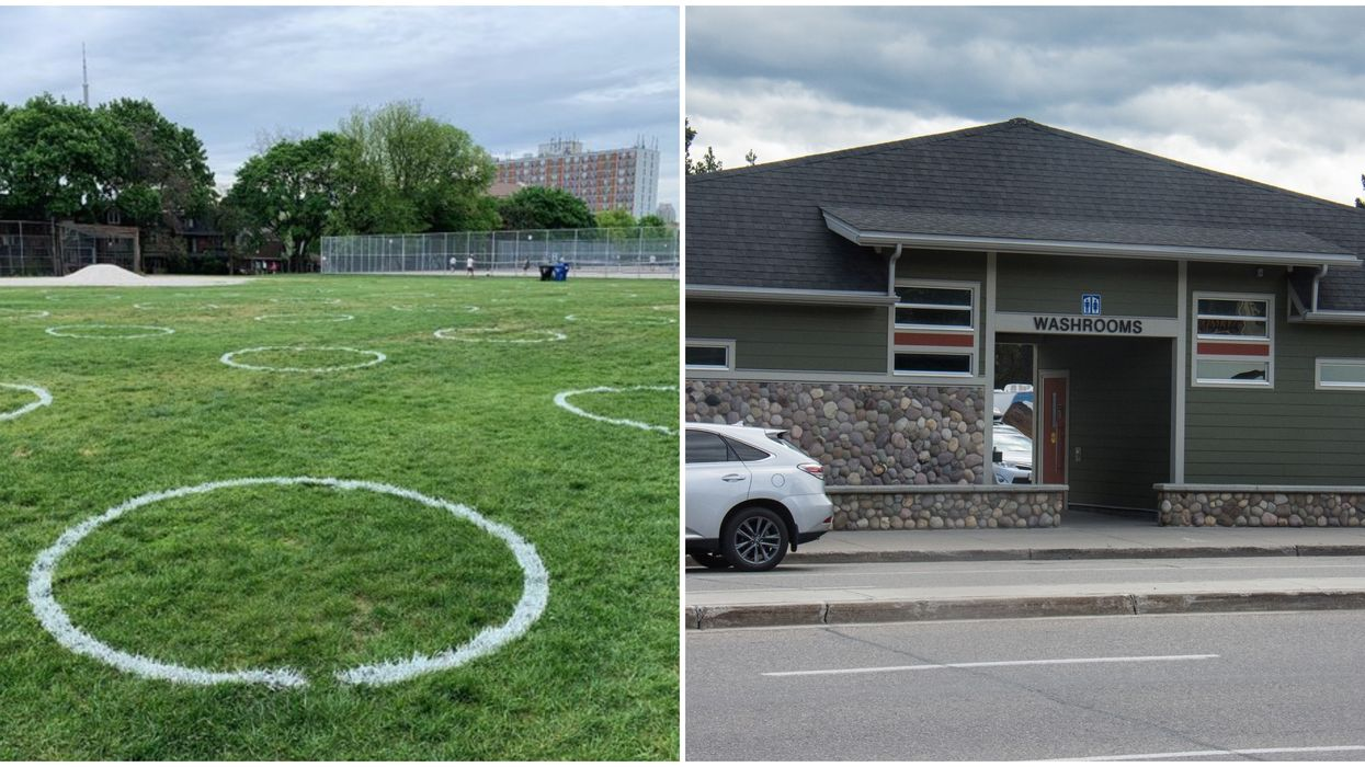 Toronto Park Washrooms Are Finally Opening Up Again Starting With Trinity Bellwoods