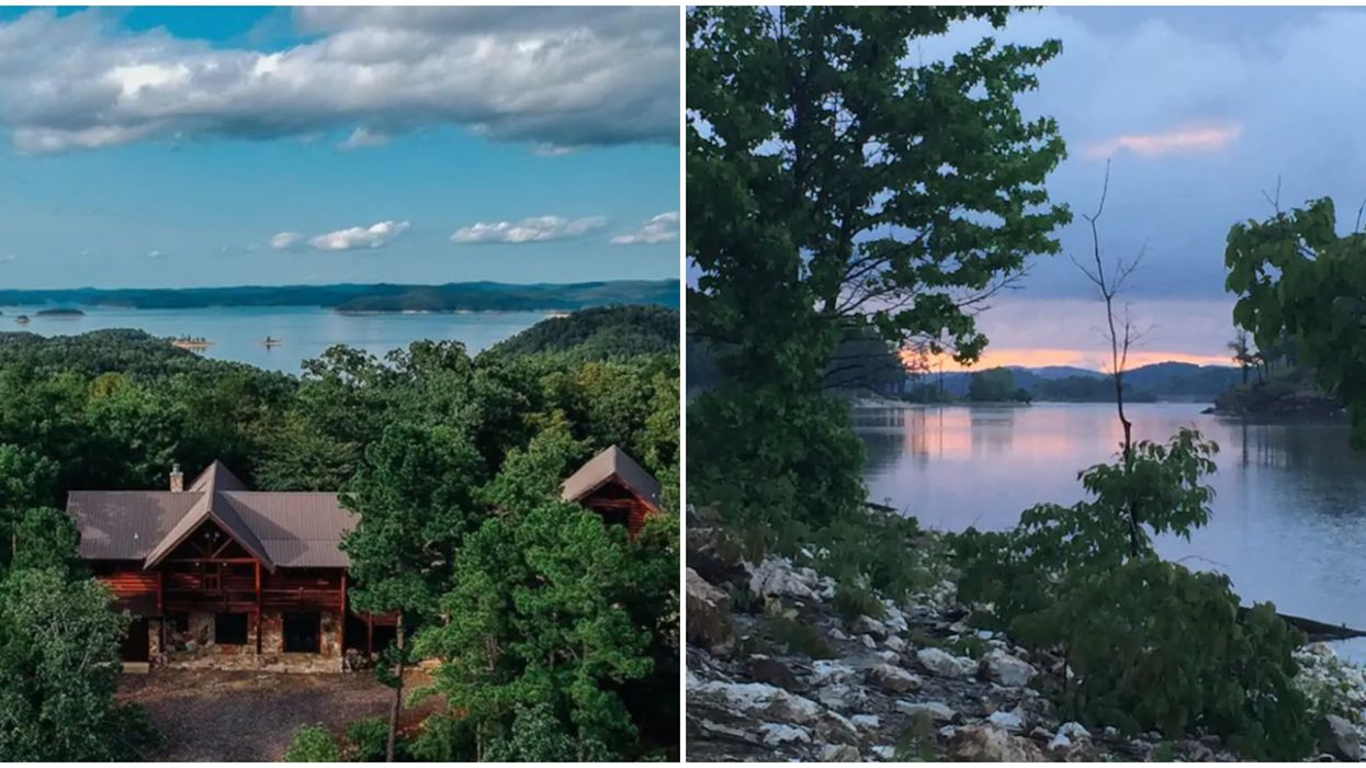 Skyline Lodge In Broken Bow, Oklahoma Is An Adorable Couples Retreat