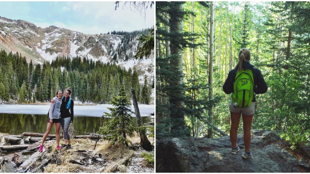 Nambe Lake Trail In Santa Fe National Forest Is The Perfect New Mexico Visit