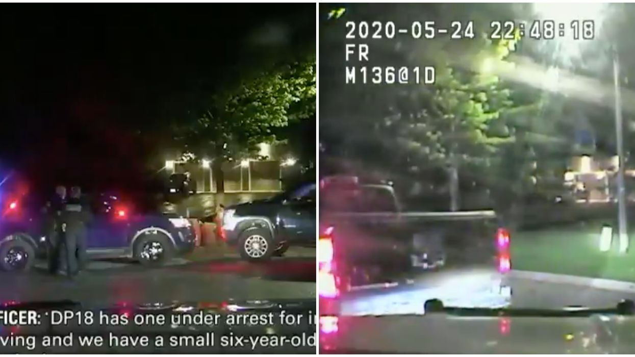 York Regional Police Chase Man Driving Drunk With His 4-Year-Old Daughter In The Car (VIDEO)