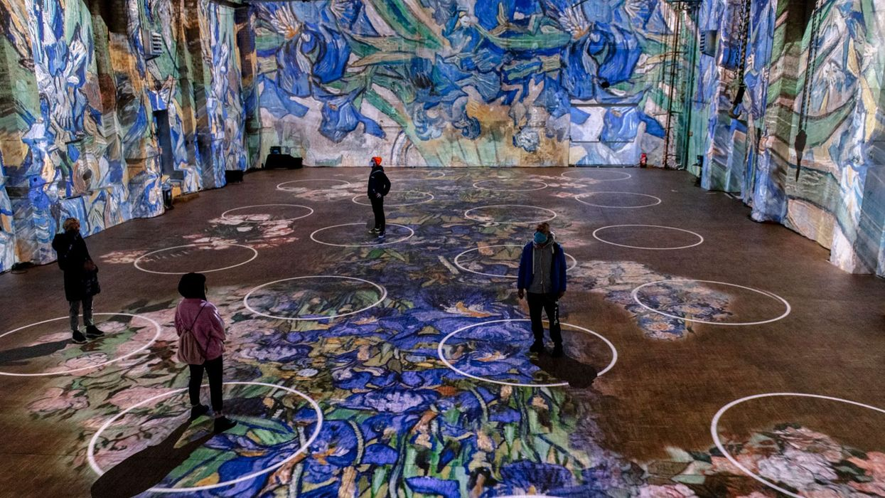 Toronto's Van Gogh Exhibit Will Use Social Distancing Circles When It Opens In July