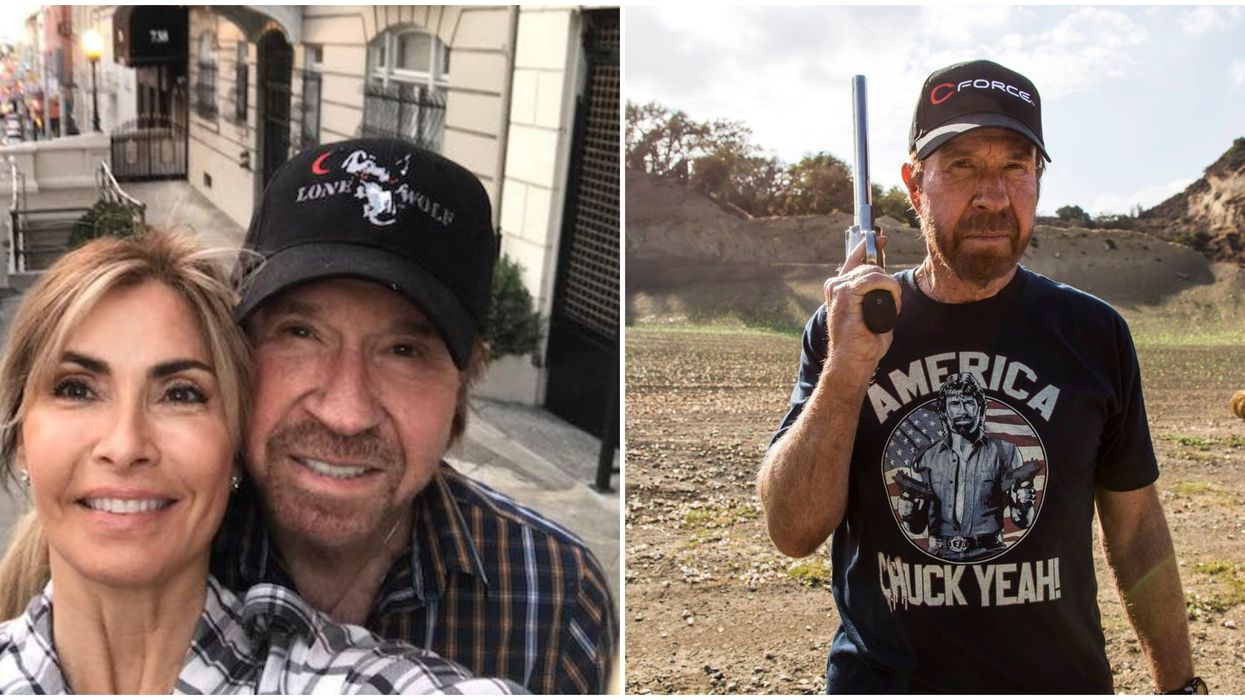 'Texas Ranger' Chuck Norris Will Read You A Book On Livestream Today