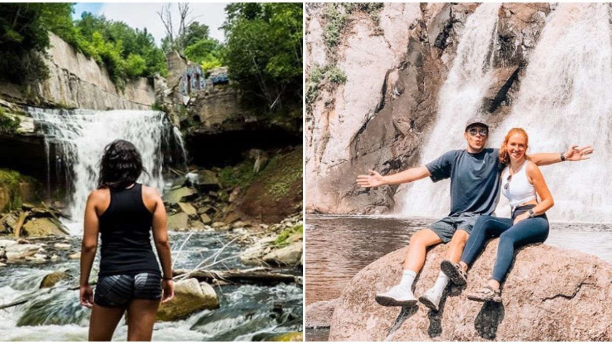 9 Ontario Waterfalls That You Need To Hit Up This Summer To Banish Those Blues