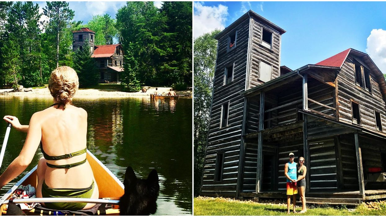 You Can Take A Canoe Trip To This Creepy Abandoned Castle In Ontario