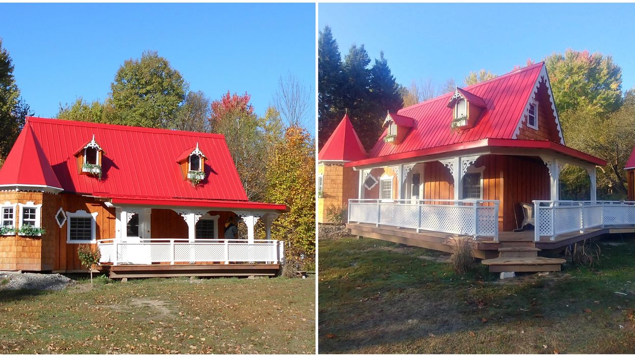 You Can Buy A Tiny Home That Looks Like A Castle In Ontario For So Cheap (PHOTOS)
