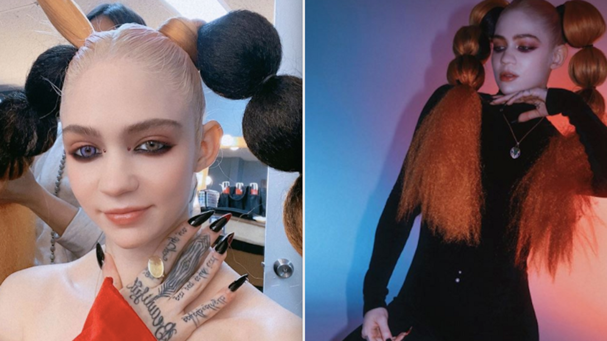 Looking to get your hands on a piece of the musician? It'll cost you! Grimes is selling her art as part of an online exhibition gallery starting this week and that includes offering up a part of her soul. She's even letting the public decide on what they believe the price tag should ring in at.