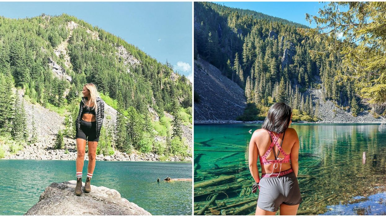 BC Hike: Trail Near Vancouver Takes You To 3 Breathtaking Turquoise Lakes