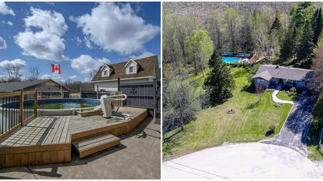 Ontario's Cheap Pool Homes Will Make You Want To Spend All Summer In Your Backyard