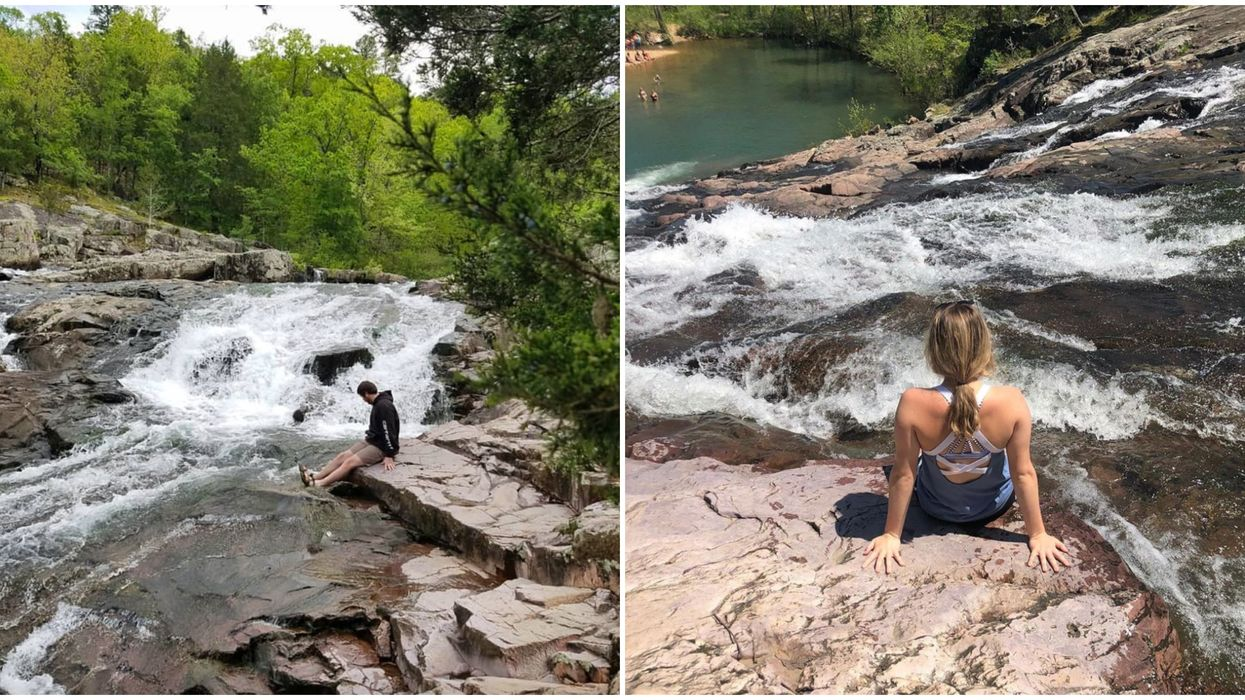 Rocky Falls In Winona Missouri Is Home To Incredible Waterfalls