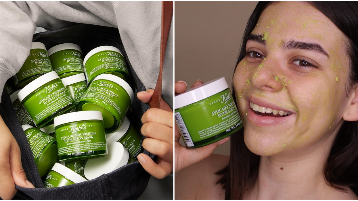 """Kiehl's Canada Is Selling A """"Holy Grail"""" Avocado Face Mask For Under $25"""