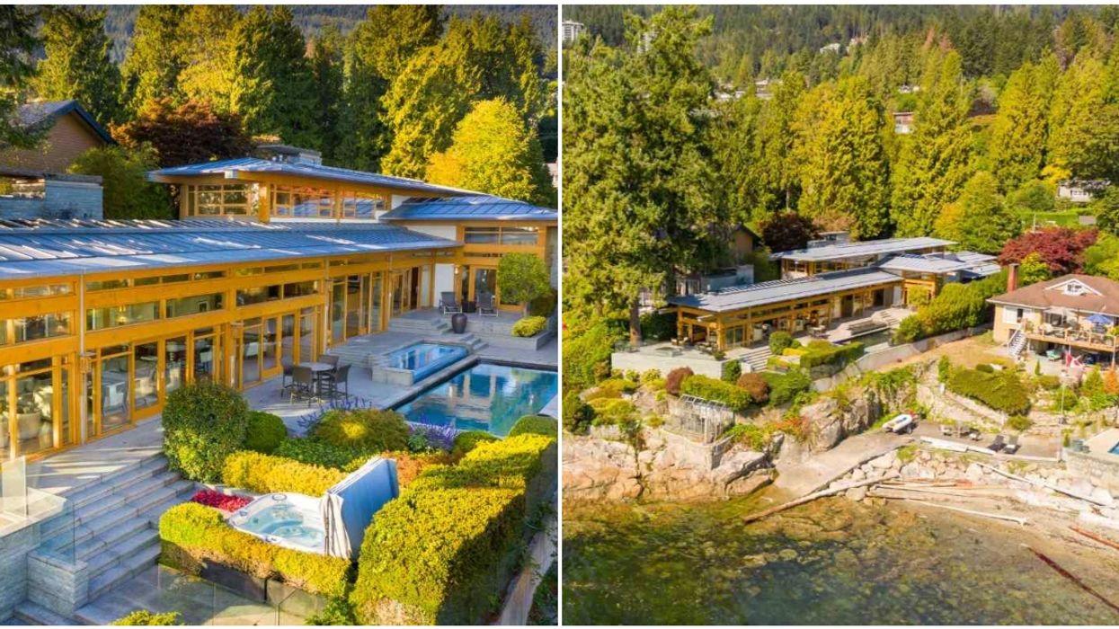 "BC Mansion For Sale Is $23 Million & Deserves A Spot On ""Selling Sunset"""