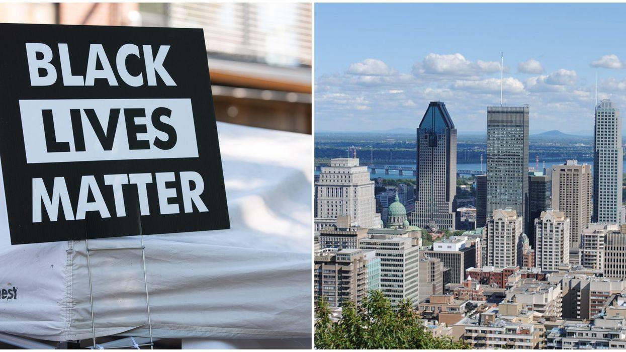 Manifestation de solidarité envers Minneapolis à Montréal ce dimanche 31 mai