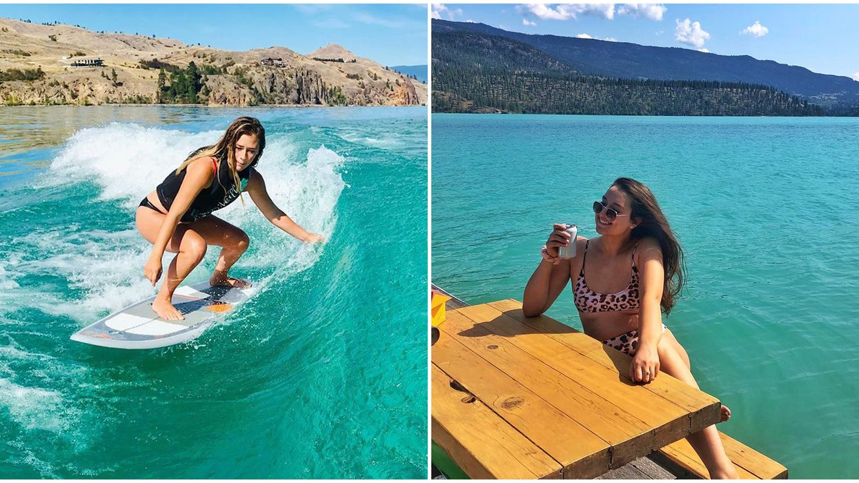B.C. Lake Where You Can Catch A Wave If You'd Rather Be In Hawaii This Summer